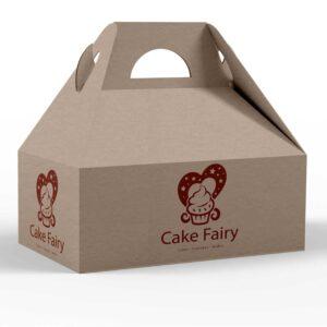 Cupcake Shipping Box