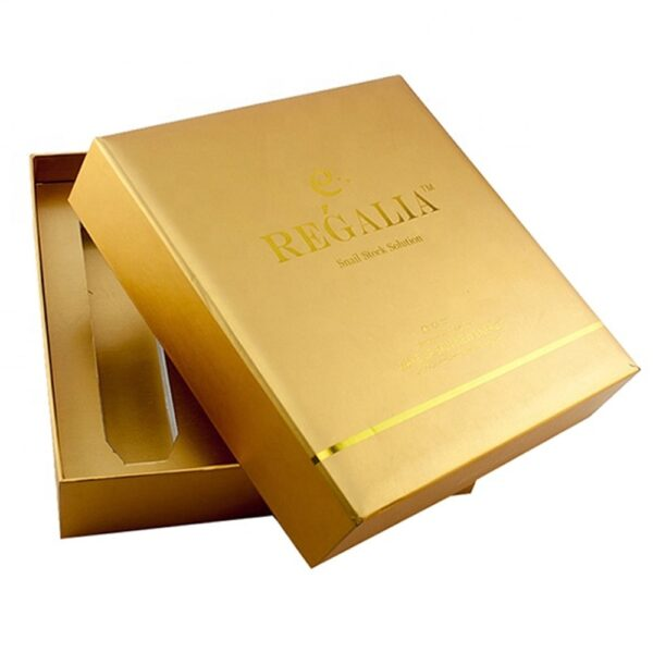 Custom Cosmetic Packaging Gold Foil min