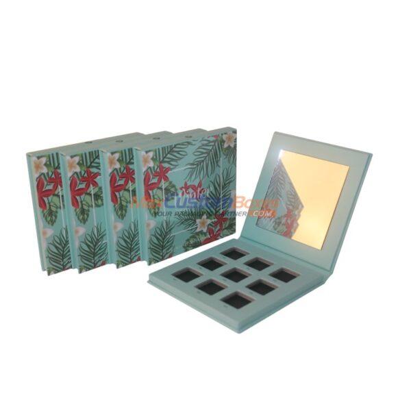 custom eyeshadow pan box packaging