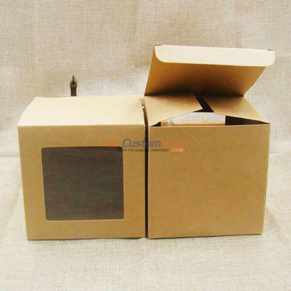 Kraft Box Window